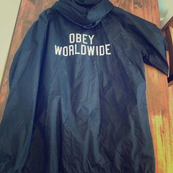 Obey Jackets & Blazers - OBEY windbreaker